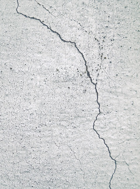 cracking foundation wall